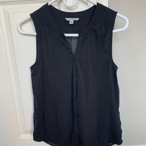 American Eagle Button Up Sleeveless Top